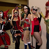 Spawn, Harley Quinns, Wonder Woman, and Poison Ivy