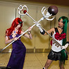 Queen Beryl and Sailor Pluto