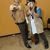 Rick Grimes and Carl Grimes