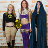 Terra, Starfire, and Raven