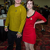 Captain James T. Kirk and Nyota Uhura