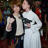 Han Solo and Princess Leia Organa
