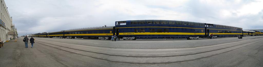 DENALI GOLD STAR TRAIN, ALASKA 1