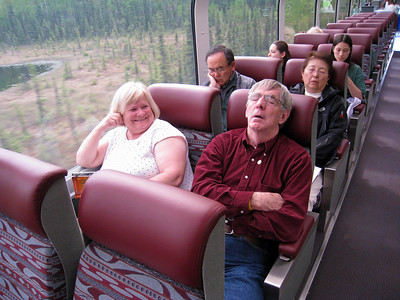 DENALI GOLD STAR TRAIN, ALASKA 14