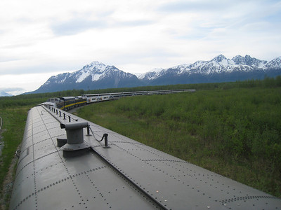 DENALI GOLD STAR TRAIN, ALASKA 10
