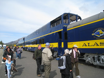 DENALI GOLD STAR TRAIN, ALASKA 25
