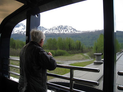 DENALI GOLD STAR TRAIN, ALASKA 8