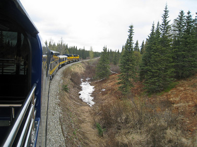 DENALI GOLD STAR TRAIN, ALASKA 17