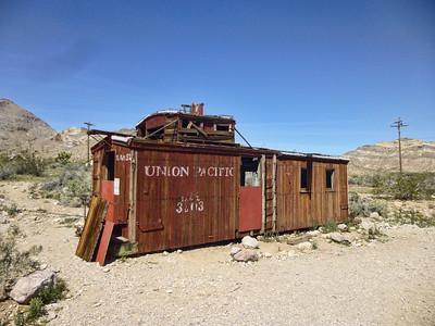 Views of Rhyolite Nevada