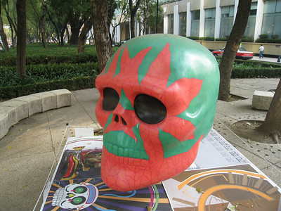 MexicoSkulls on Paseo de Reforma 24