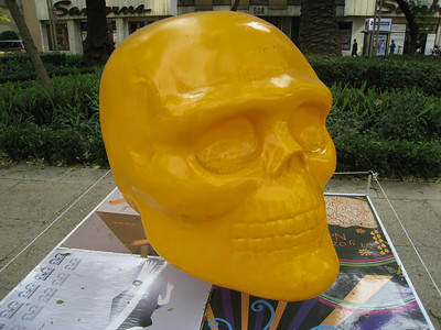 MexicoSkulls on Paseo de Reforma 29