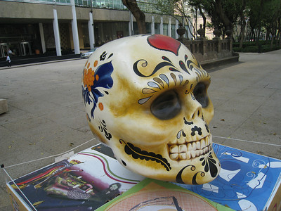 MexicoSkulls on Paseo de Reforma 22