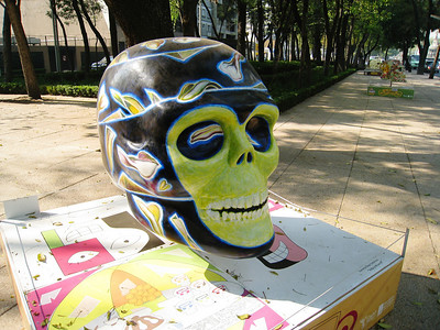 MexicoSkulls on Paseo de Reforma 2