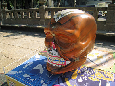 MexicoSkulls on Paseo de Reforma 9