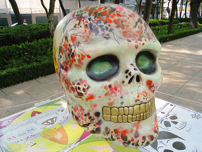 MexicoSkulls on Paseo de Reforma 3