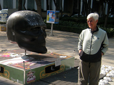 MexicoSkulls on Paseo de Reforma 0