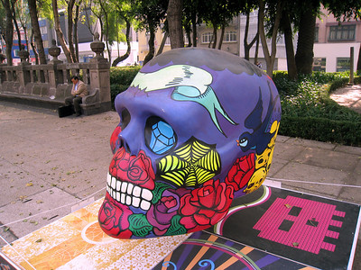 MexicoSkulls on Paseo de Reforma 18
