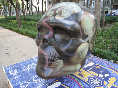 MexicoSkulls on Paseo de Reforma 7