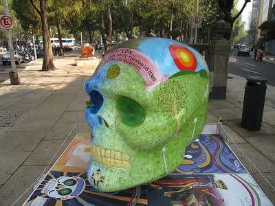 MexicoSkulls on Paseo de Reforma 10
