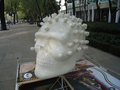 MexicoSkulls on Paseo de Reforma 23