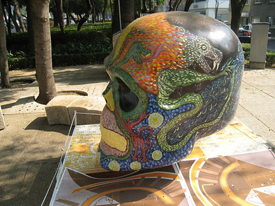 MexicoSkulls on Paseo de Reforma 19