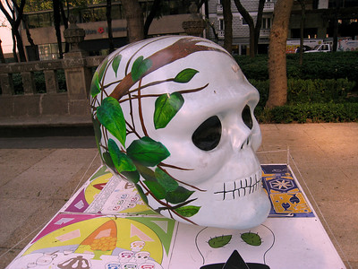MexicoSkulls on Paseo de Reforma 5