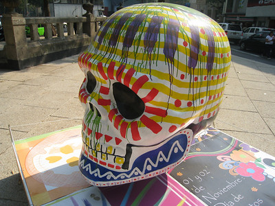 MexicoSkulls on Paseo de Reforma 12