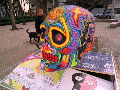 MexicoSkulls on Paseo de Reforma 8