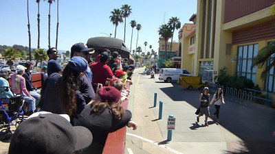 Santa Cruz Beach Train 09