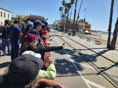 Santa Cruz Beach Train 08