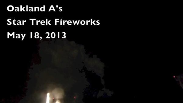 Star Trek Fireworks May 2013 HD