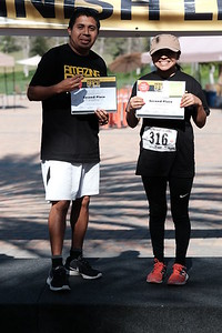 Finshed 2nd Place - Two Person Team