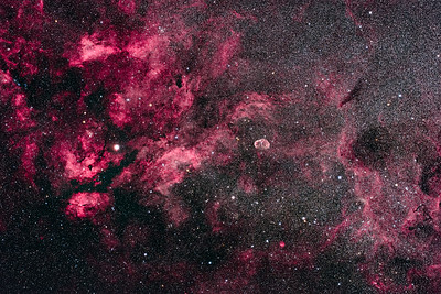 The Cygnus Starcloud and Nebulosity