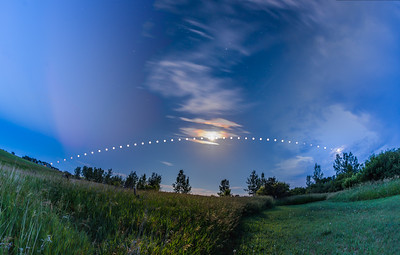 Arc of the Summer Moon