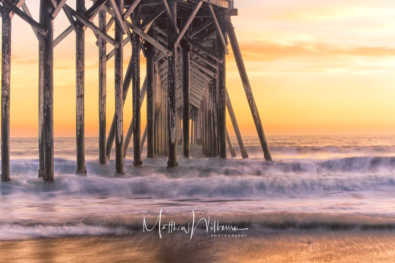 San Simeon Pier Sunset