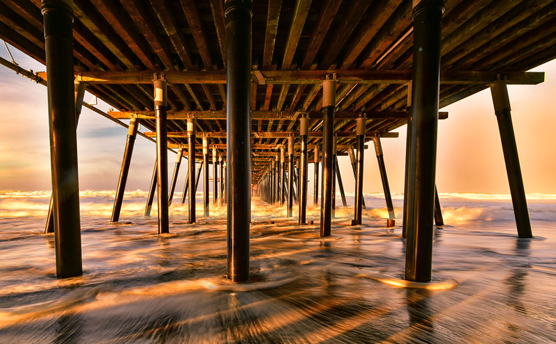 Pismo Beach Pier Morning Sunrise