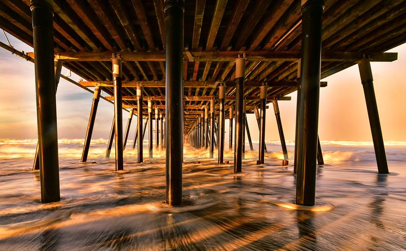 Pismo Beach Pier Morning Sunrise