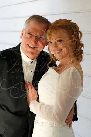 Julie and Robert's delightful backyard ceremony in Valencia!