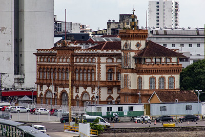 The opera house in Manaus. Built during the rubber days.