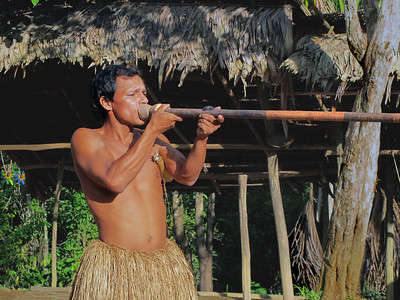 Blowgun Hunter - Yahua Tribe