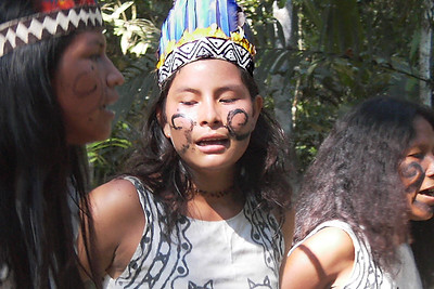 Witoto Tribal Dancers