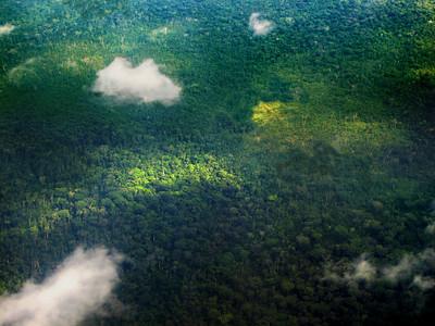 Over the Upper Amazon
