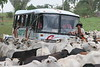Cowboys help traffic pass cattle on a highway near Quinto Bec in Brazil's Amazonian state of, Rondonia, Mar. 15, 2006.(AustralFoto/Douglas Engle)