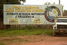 "A sign welcomes visitors to the Sao Felix do Xingu and reads: ""Enjoy our Nature and Preserve it,"" in Brazil's Amazonian state of Para. Sao Felix is also where the ""Terra do Meio"" or Middle Lands, begin. Named for the area between the Xingu and Iriri Rivers, the 29,343 sq. mile area (slightly smaller than Maine or Scotland) lies in the path of progress as cattle ranches encroach from the east and big business soy advances from the south. illegal logging, labor, land-grabbing and human rights abuses in the area are not uncommon. Simple people, looking for opportunity to have some cheap land, are migrating to the reagion. Much Like the favelas of Rio de Janeiro, which were not officially included on city maps until the mid-1990s, the Middle Land is also a species of autonomous zone - a black hole of information and uncertainty over which Brazilian authorities in reality have little control. (AustralFoto/Douglas Engle)"