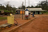 """A gasoline station in the """"Terra do Meio"""" or Middle Lands, in the municipality of Sao Felix do Xingu in Brazil's Amazonian state of Para. Named for the area between the Xingu and Iriri Rivers, the 29,343 sq. mile area (slightly smaller than Maine or Scotland) lies in the path of progress as cattle ranches encroach from the east and big business soy advances from the south. illegal logging, labor, land-grabbing and human rights abuses in the area are not uncommon. Simple people, looking for opportunity to have some cheap land, are migrating to the reagion. Much Like the favelas of Rio de Janeiro, which were not officially included on city maps until the mid-1990s, the Middle Land is also a species of autonomous zone - a black hole of information and uncertainty over which Brazilian authorities in reality have little control. (AustralFoto/Douglas Engle)"""