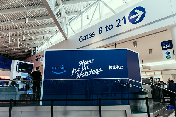 Amazon Music at Jet Blue T5 2017