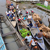 People coming in with goods from other villages in the area. Pevas, Amazon River, Peru