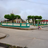 Another view of the main square in Pevas, Peru. Amazon River Basin