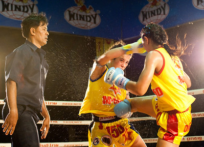 Muay Thai photography from my conservation project for Fulbright. 15 years old's fighting on Mother's Day in Bangkok