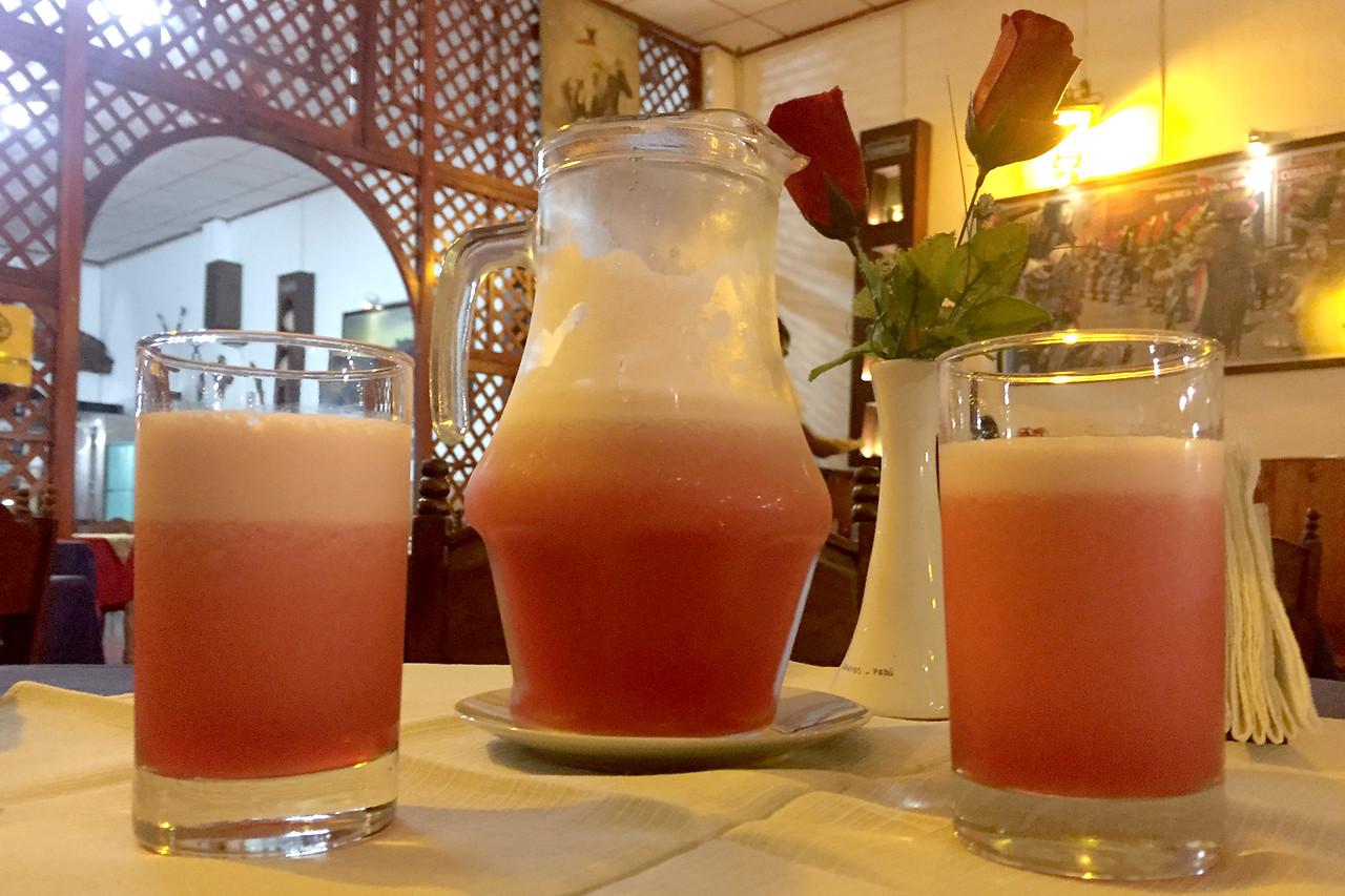 Kamu Kamu drink, Peru